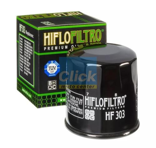 filtro oleo hiflo hf303 versys z750 zx6r zx10r er6n ninja650