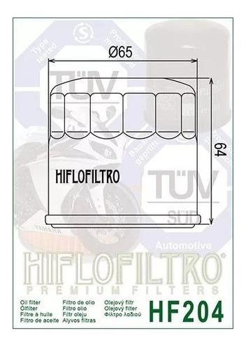 filtro oleo hiflo honda kawasak suzuki triumph yamaha ph6017