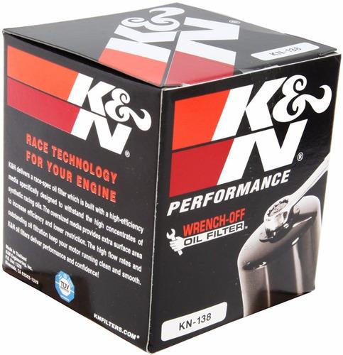 filtro óleo k&n gsxr 750 gsxr 1000 srad gsr hayabusa kn-138