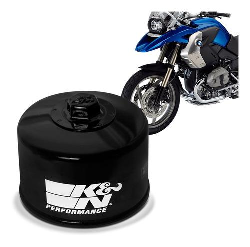 filtro óleo k&n moto bmw r1200gs 2008 2009 2010 2011 2012