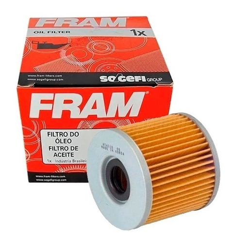 filtro óleo moto fram ch6000 suzuki gs 500 gs500 1-02 12-10