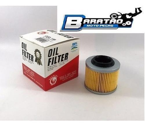 filtro óleo moto peças