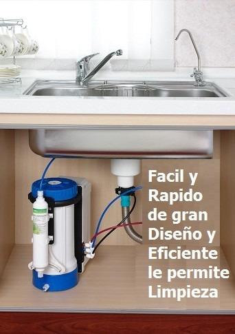 Filtro osmosis inversa 6 etapa agua 100 casas apartamento - Filtros de osmosis inversa precios ...