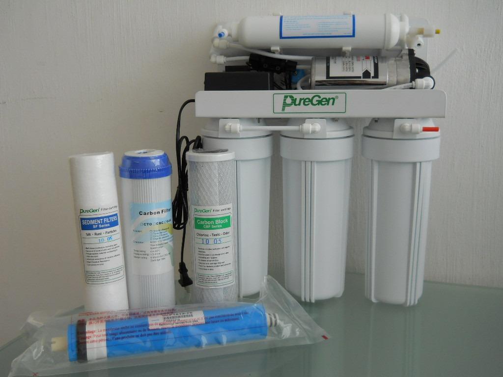 Filtro osmosis inversa residencial 100gpd 5 pasos c bomba - Filtros de osmosis inversa precios ...