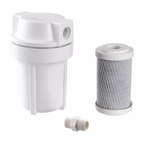 filtro p/ chuveiro shower branco carvão + 4 refis