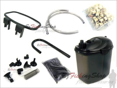 filtro para acuario canister chico cy-20 200 lt/hr peces