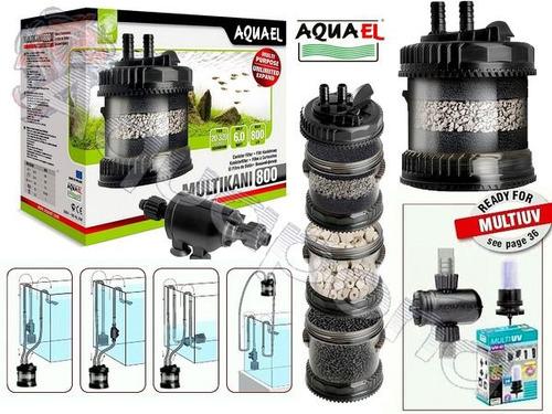 filtro para acuario / pecera multikani 800 aquael