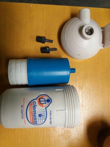 filtro para agua completo marca clemente