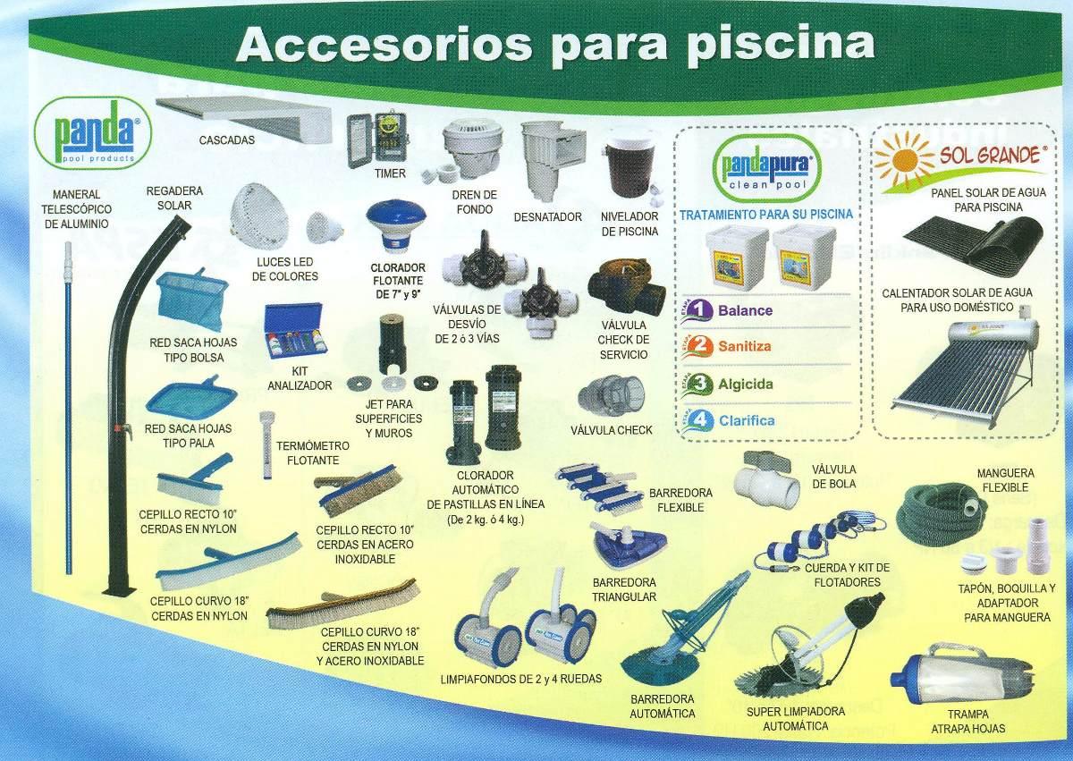 Filtro para alberca marca panda de 24 pulgadas piscina for Accesorios de piscina