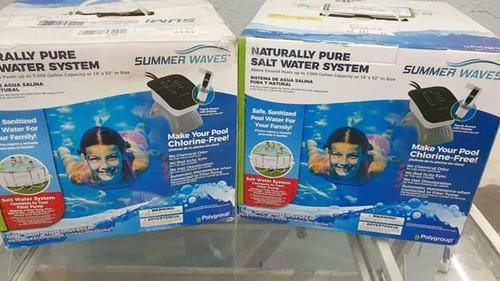 filtro para alberca sistema agua salada purificador de cloro