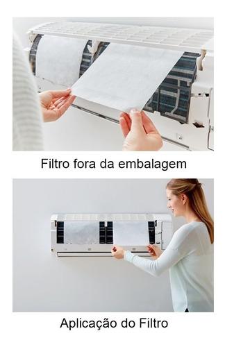 filtro para ar condicionado split 3m - pacote com 2 unidades