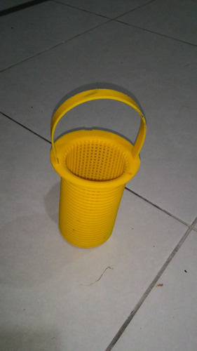 filtro para bomba de piscina weg 1/4 cv usado, plástico
