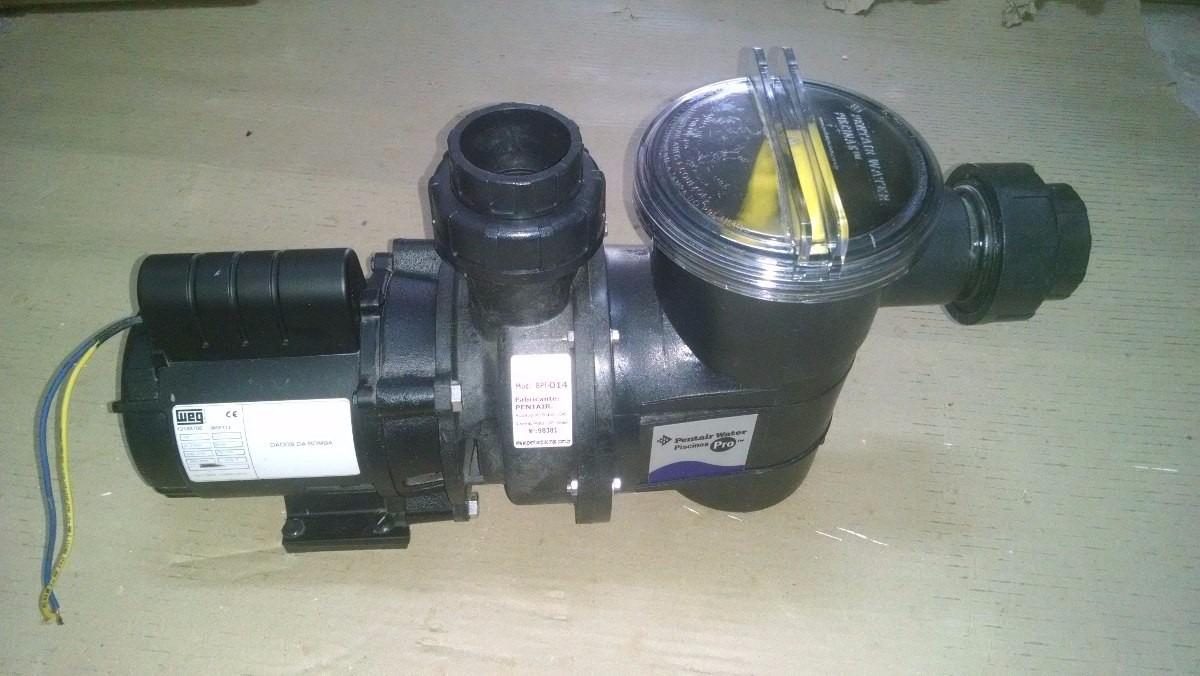 Filtro para bomba de piscina weg 1 4 cv usado pl stico for Motor piscina