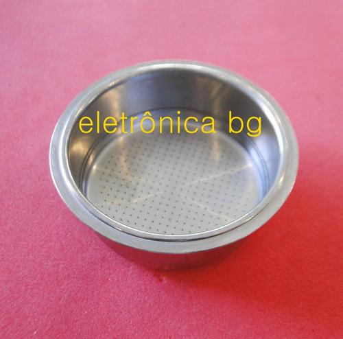 filtro para cafeteira electrolux chef crema 2 xicaras