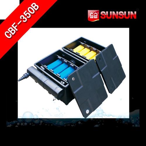 filtro para lago de 2000 - 3000 - 4000  litros cbf-350 caixa