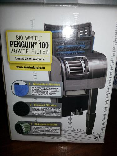 filtro para peceras marineland mod peguin 100