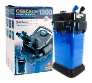 filtro penn plax cascade canister 1500, hasta 200 gal
