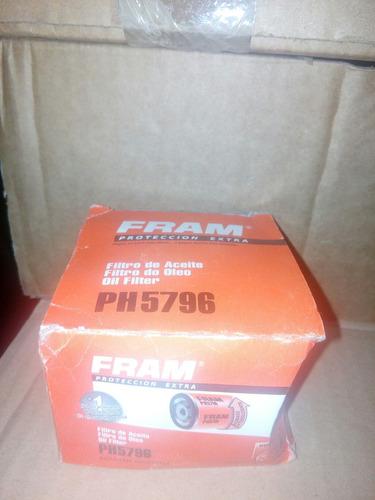 filtro ph5796 renault clio 1.6, paño, kangoo, logan, megane