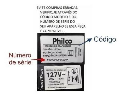 filtro philco ph1100 rapid turbo pas02v e pas02c | kit com 4