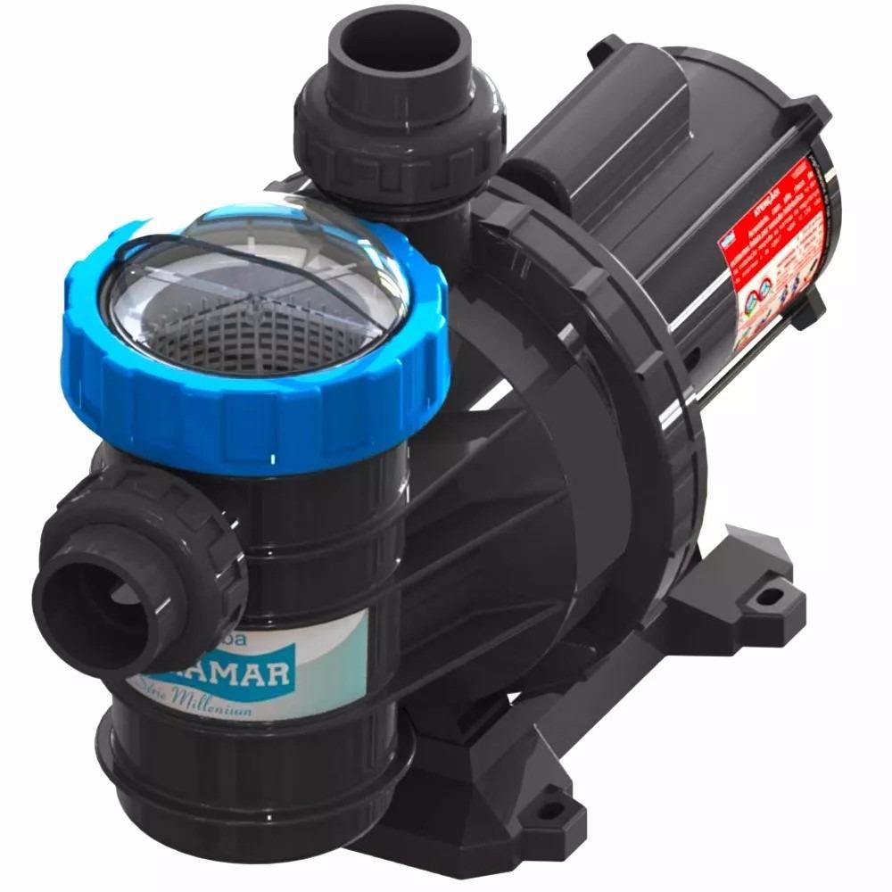 Bomba filtro piscina litros motor 1 4cv sodramar for Filtro piscina