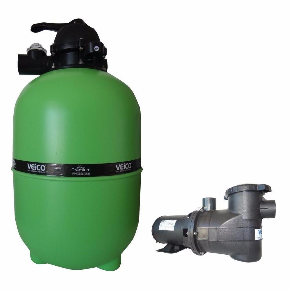 Filtro piscina veico v40 e bomba 1 2cv motor weg p 42 for Filtro piscina
