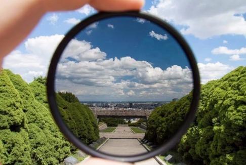 filtro polarizador 58mm cpl lente canon nikon sony fuji