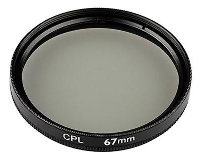 filtro polarizador 67 mm - tecsys