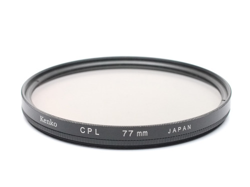 filtro polarizador 77mm kenko -usado- efe9
