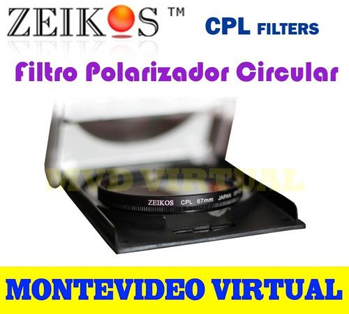 filtro polarizador circular zeikos  (cpl filter)