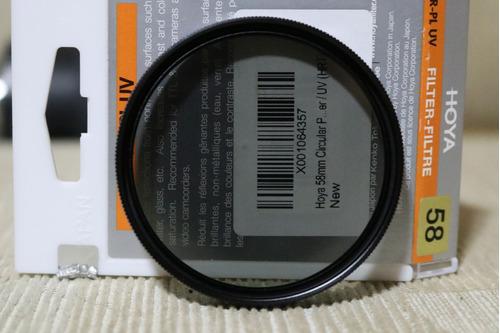filtro polarizador hoya
