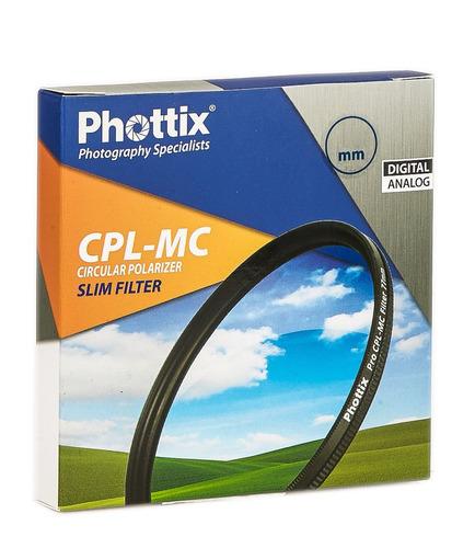 filtro polarizador lente