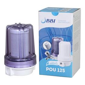 Filtro Ponto De Uso Pou 125 Transparente Bbi Carvão Ativado Remove Cloro F125 5 Polegadas Anticloro Ponto De Uso