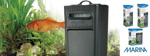 filtro premium marina i25 acuarios 25lts + repuesto + envío!