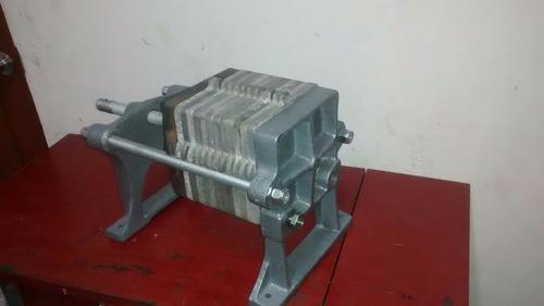 filtro prensa para aceites industriales o procesos similares