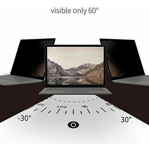 filtro protector de pantalla de privacidad completamente ext