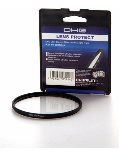 filtro protector marumi japon dhg multicoated a lente ø 46mm
