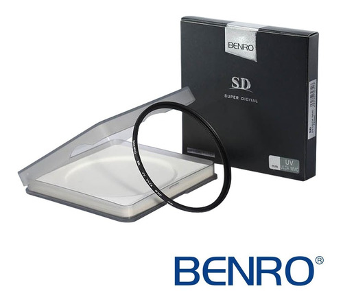 filtro protetor uv p/ lente 95mm benro sd ulca wmc +99% luz