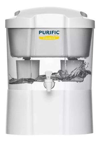 filtro purific ecológico refil 7 camadas com torneiras promo