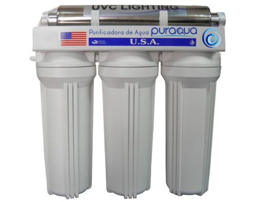 filtro purificador 4-1 ultravioleta.