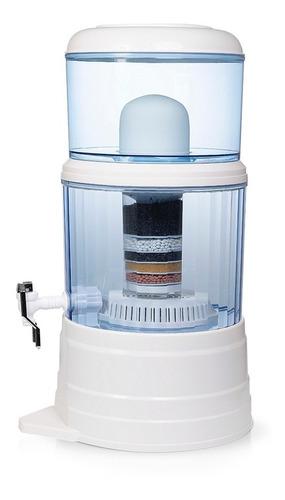 filtro purificador agua ecotrade 14 litros + repuesto gratis