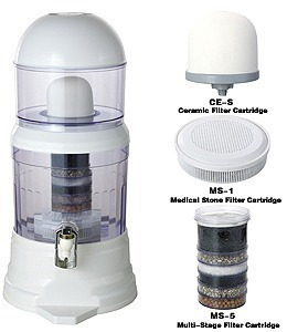 filtro purificador agua limpia bioenergetico 16 litros