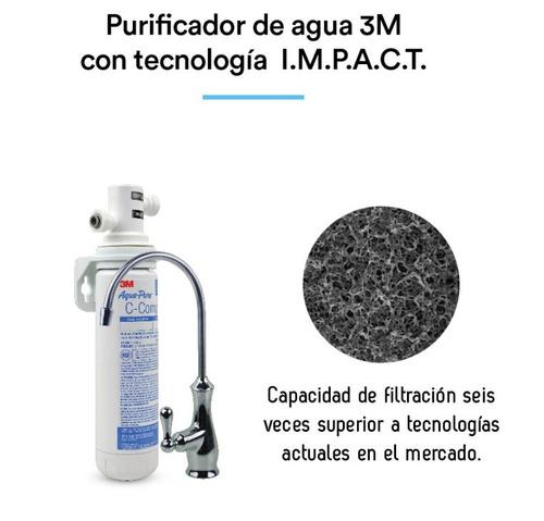 filtro purificador de agua ap easy complete caño dedicado