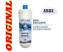 filtro purificador de água avanti ibbl original refil