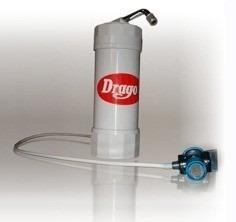 filtro purificador de agua drago mp40 sobre mesada pgriferia