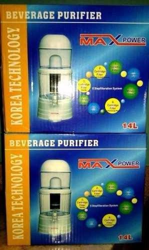 filtro purificador de agua max power 14 litros ypt
