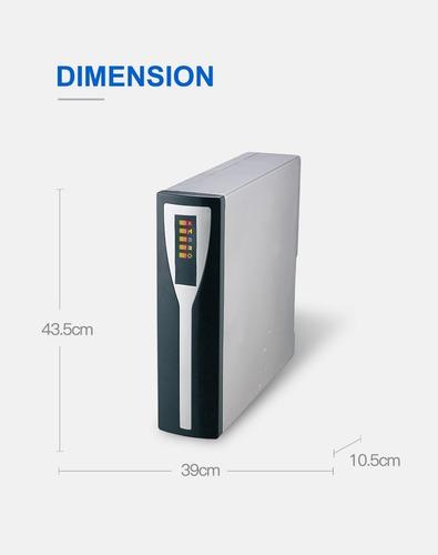 filtro purificador de agua ósmosis inversa 300 gls hidrotek
