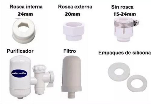 filtro purificador de agua potable con cerámica/eshopviña