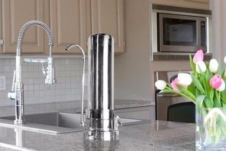 filtro purificador de agua sobremesada aquatal sabor cloro