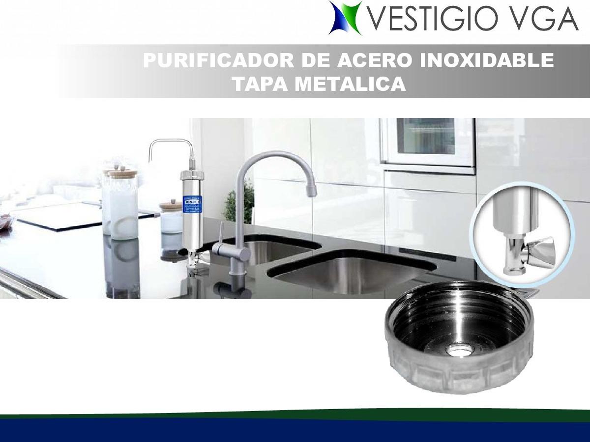 Filtro purificador de agua tipo pasteur bs - Purificador de cocina sin salida ...