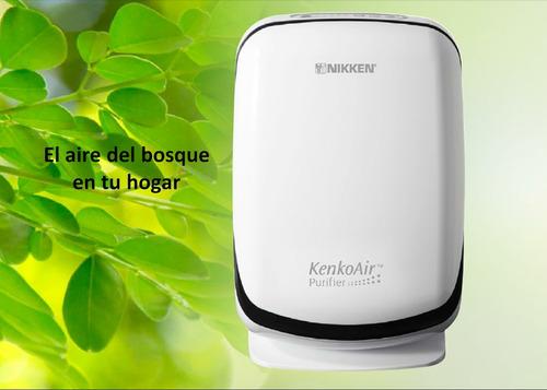 filtro purificador de aire nikken con iones negativos